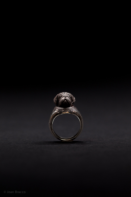 ring, 2011 : patinated silver