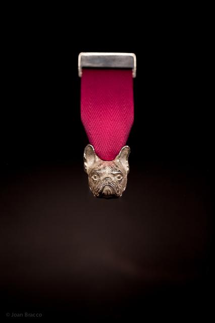 brooch : silver, cotton - 2011