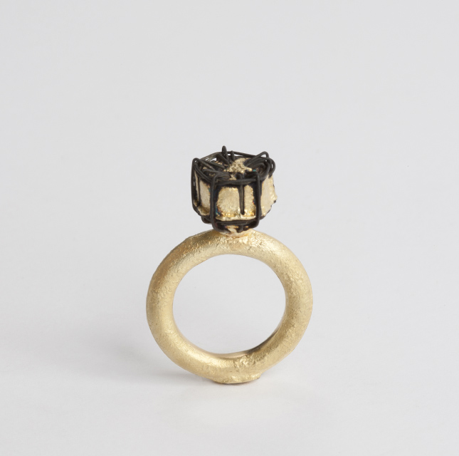 ring, 2013 : gold, iron