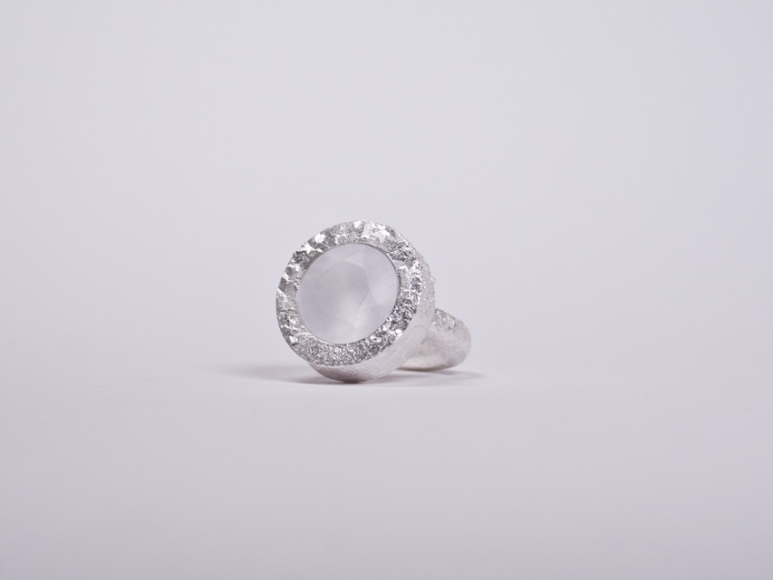 ring : crystallized fine silver zirconium dioxide - 2020